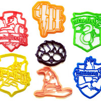 Harry Potter Cookie Cutter Stencil