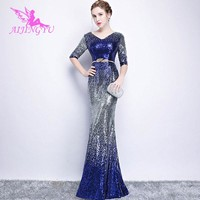 AIJINGYU Plus Size Evening Dress Party Sexy Gown 2018 Women Elegant Formal Special Occasion Dresses Fashion Ball Gowns FS262
