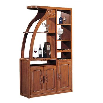 Chinese Room Partition Of The Cabinet Cabinets sideboards Wood Lockers  Rubber Wood Hall Room wine cabinet storage