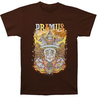 Primus Men's  Wonkahead Slim Fit T-shirt Brown