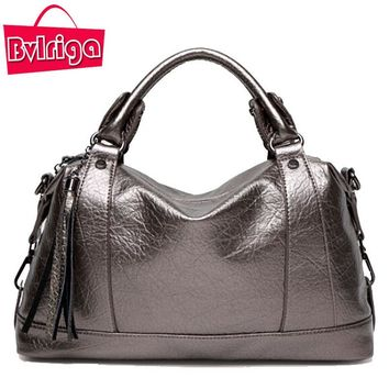 BVLRIGA Luxury Handbags Women Bags Designer Women Leather Handbag Messenger Crossbody Shoulder Bags Handbags Women Famous Brands