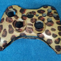 Cheetah Xbox 360 Controller Shell Wireless