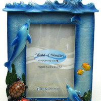 Dolphin Picture Frame Sea Spree 4x6