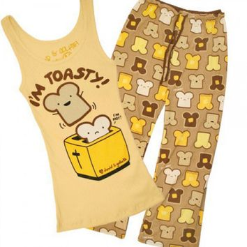 I'm Toasty Pajama Set - Pajamas - Women