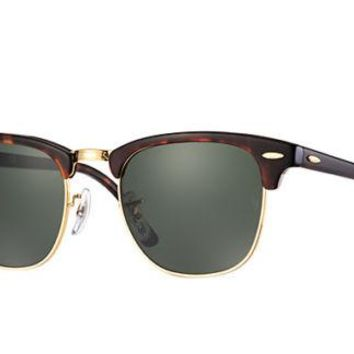 Sunglasses Ray-Ban RB3016 CLUBMASTER W0366 TORTOISE/GOLD COLOURED CAL.51