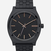 Nixon Time Teller Watch Matte Black One Size For Men 25835318201