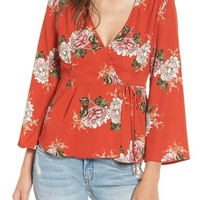 ASTR the Label Wrap Top | Nordstrom
