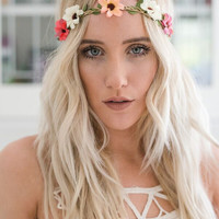 Bohemian Bloom Flower Crown