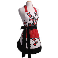 Women's Original Cherry Blossom Flirty Apron