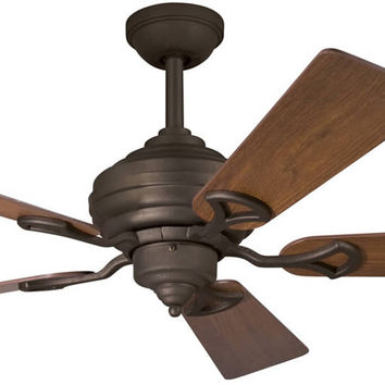 "0-009679>54""w Meredith Ceiling Fan Distressed Black"