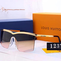 Louis Vuitton LV Fashion Women Men Summer Sun Shades Eyeglasses Glasses Sunglasses