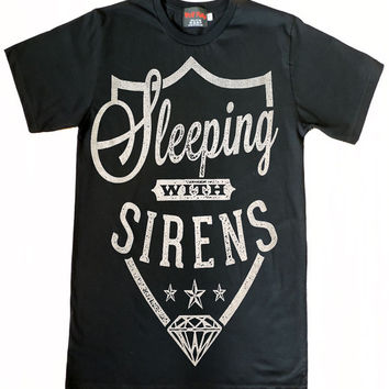 Sleeping with Sirens Logo T-Shirt Size S to XL
