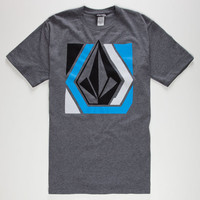 Volcom Stranger Mens T-Shirt Heath  In Sizes