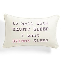 Levtex 'Beauty/Skinny Sleep' Pillow | Nordstrom