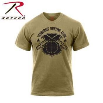 'Terrorist Hunting Club' T-Shirt