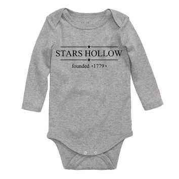 Gilmore Girls Stars Hallow Baby Bodysuit
