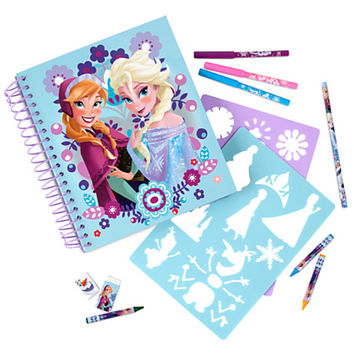 Frozen Fun on the Run Art Pack
