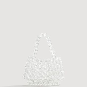Beaded see-through bag - Women | MANGO United Kingdom