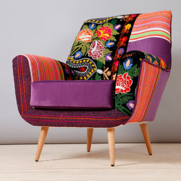 Bay armchair - oriental love