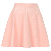 Pink Baby Cord Skater Skirt - Skirts - Clothing - Topshop USA