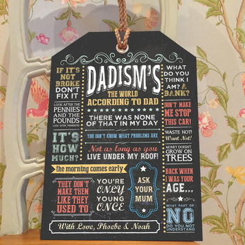 Personalised Gift, Dad Gift, Husband Gift, Male Gift, Dad Birthday ...: wanelo.com/shop/husband-birthday