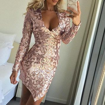 Gold Embroidered Sofia Party Dress