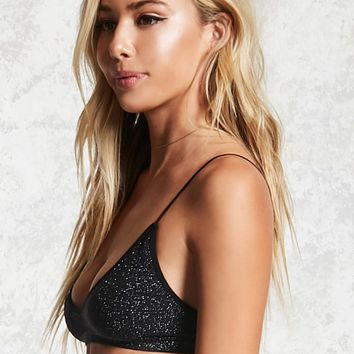 Metallic Lurex Bralette