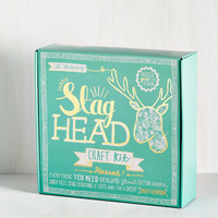 ModCloth Handmade & DIY Oh, I Never Meant to Stag Wall Decor
