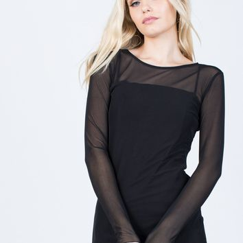 Lights Out Dress