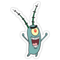 Plankton (Shirt/Sticker)