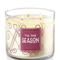 TIS THE SEASON3-Wick Candle