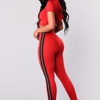 Cassandra Lounge Set - Red