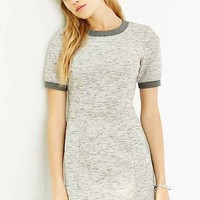 Silence + Noise Scuba Seamed Tee Dress