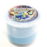 DIY Bouncing Elastic Blue Putty 108g in 4oz Container Of Goop/Slime