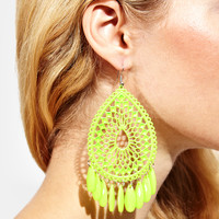 Tropics Filigree Earrings