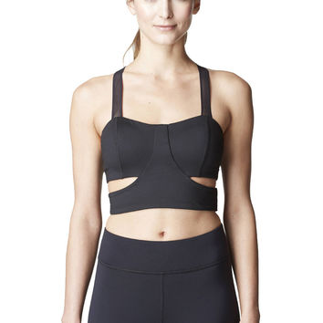 Michi Onyx Bra | Cut Out Sports Bra