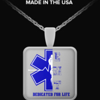 EMT Dedicated For Life Necklace emtdedicatednecklace