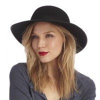 Sole Society Wide Brim Wool Hat