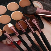 1Set/20Pcs Professional Cosmetic Makeup Brush Makeup Tools Eyeshadow Conceal Foundation Brush Set = 1841610308