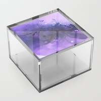 Sahasrara (crown chakra) Acrylic Box by duckyb