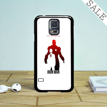 The Avengers - Iron Man Poster Samsung Galaxy S5 Case