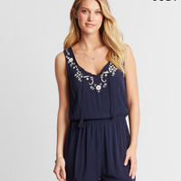 Cape Juby Embroidered Romper