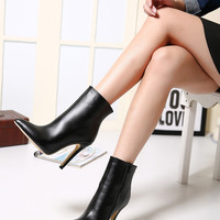 Fancy Chic Comfortable Stiletto Heel High Heel Boots