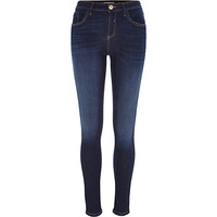 River Island Womens Dark wash Amelie superskinny jeans