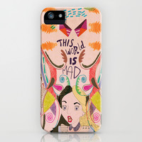 Alice In Wonderland  iPhone & iPod Case by Vasare Nar