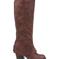 Cognac Lundry Boot