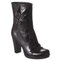 Women's Mossimo?- Keeley Heeled Boots - Black : Target