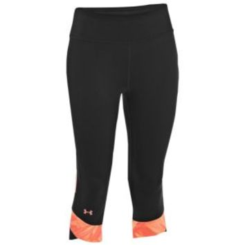 Under Armour Heatgear Fly-By Compression Capris - Women's at Lady Foot Locker