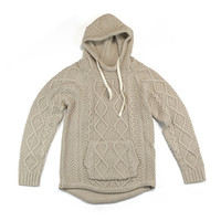 Mixed Knit Hoodie