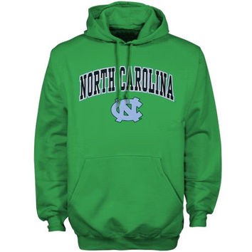 North Carolina Tar Heels :UNC: Kelly Green St. Patrick's Day Hoodie Sweatshirt